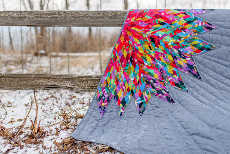 luminary quilt pattern by Jamie Swanson with Alison Glass